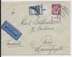 1939 - POSTE AERIENNE - ENVELOPPE Par AVION De WIEN (AUTRICHE) => PARIS - Luftpost