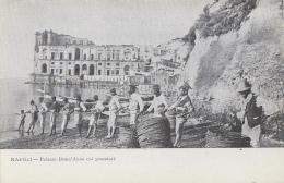 Italie - Napoli - Palazzo Donn'Anna Coi Pescatori - Pêcheurs Filets - Napoli