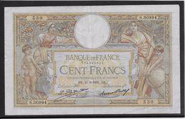 France 100 Francs Luc Olivier Merson - 11-6-1931 - Fayette N° 24-10 - TB - 1871-1952 Anciens Francs Circulés Au XXème