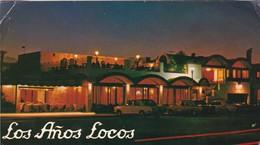 LOS AÑOS LOCOS THE CRAZY YEARS LES FOLLES ANNEES RESTAURANT PARRILLA. ED DOBLE, GRAFICA SA CIRCA 1978 CIRCULEE-BLEUP - Hotel's & Restaurants
