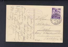 Liechtenstein AK Schloss Vaduz FDC 1937 - FDC