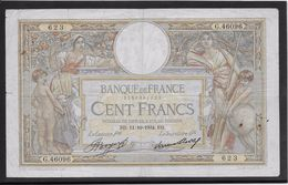 France 100 Francs Luc Olivier Merson - 11-10-1934 - Fayette N° 24-13 - TB - 100 F 1908-1939 ''Luc Olivier Merson''