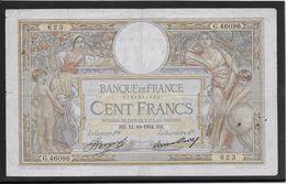 France 100 Francs Luc Olivier Merson - 11-10-1934 - Fayette N° 24-13 - TB - 1871-1952 Antiguos Francos Circulantes En El XX Siglo
