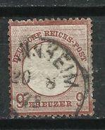 Alemania. Imperio. 1872. Águila En Relieve - Usados