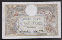 France 100 Francs Luc Olivier Merson - 9-5-1935 - Fayette N° 24-14 - TB - 1871-1952 Anciens Francs Circulés Au XXème