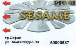 BULGARIA KEY CASINO Sesame Silver - Sofia - Casino Cards