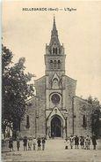 - Dpts Div.-ref-VV804- Gard - Bellegarde - L Eglise - Enfants - Carte Bon Etat - - Bellegarde