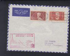 Poste Aerienne 1938 Paris Nice - Luftpost