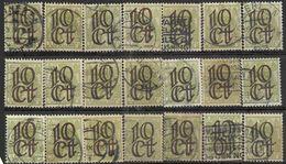 _3L-312:  Opruimingsuitgifte. Restje Van  21 Zegels N° 132... Verder Uit Te Zoeken.. - 1891-1948 (Wilhelmine)