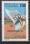 1991 ANDORRE Français 401** Sport, Stade - Andorre Français