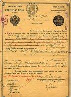 RUSSIE / RUSSIA / MINISTERE DES FINANCES DE L'EMPIRE DE RUSSIE 1916 - Russie
