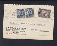 Croatia PC 1924 Zagreb To Germany - Croatia