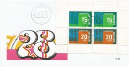 Netherlands Antilles 1973 Aruba Mother Child FDC Cover - Enfance & Jeunesse