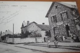 CPA 77 Seine Et Marne CONGIS La POSTE Ed Jacquier  1918 Postes Télégraphes - France