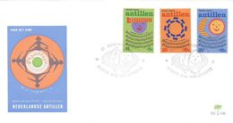 Netherlands Antilles 1974 Curacao Children Songs FDC Cover - Kindertijd & Jeugd