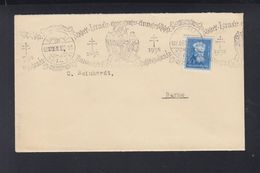 Hungary Cover 1938 Special Cancelation - Ungarn