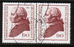 GERMANY   Scott # 1144 VF USED PAIR - [7] Federal Republic