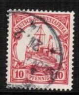 GERMANY---South West Africa   Scott # 28 VF USED - Colony: German South West Africa