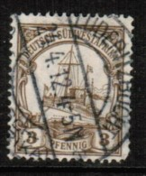 GERMANY---South West Africa   Scott # 26 USED THIN - Colony: German South West Africa