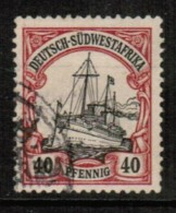 GERMANY---South West Africa   Scott # 19 VF USED - Colony: German South West Africa