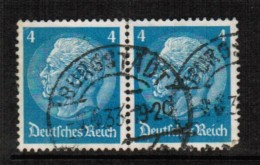GERMANY   Scott # 391 VF USED PAIR - Used Stamps
