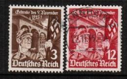 GERMANY  Scott # 467-8 VF USED - Germany
