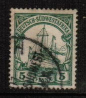 GERMANY---South West Africa   Scott # 14 VF USED - Colony: German South West Africa