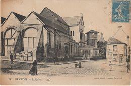 Sannois:L'Eglise - Sannois