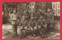 Région Arras --  Carte Photo Soldats Allemands Devant Une Maison  - 5 Bayern Res Div 22/5/1916 - Autres Communes