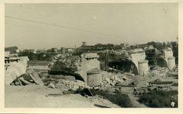 49 - SAUMUR - Destruction Du Pont Des Sept Voies , Juin 1944 - Photo Très Rare - Lieux
