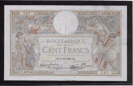France 100 Francs Luc Olivier Merson - 8-12-1938 - Fayette N° 25-36 - TB - 1871-1952 Anciens Francs Circulés Au XXème