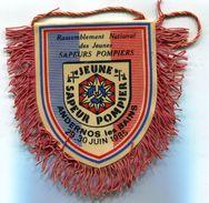 H803 FANION SAPEURS POMPIERS ANDERNOS LES BAINS 1985 - Pompieri