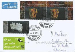 Kyrgyzstan 2017 Bishkek Realgar Aragonite Minerals Cover - Mineralen