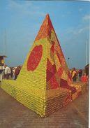 "Appelmarket: Kivik Sweden. "" Pyramid"" - Artist: Helge Lundström.   # 02599 - Markets"