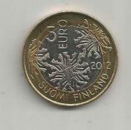 Monnaie , SUOMI FINLAND , 5 Euro , 2012 , 2 Scans, Frais Fr : 1.95 E - Finnland