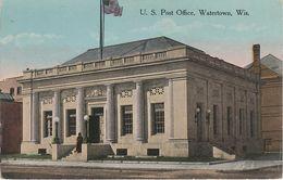 AK Watertown U. S. Post Office A Waukesha Madison Clyman Johnsons Creek Hubbleton Wisconsin WI United States USA - Waukesha