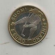 Monnaie , SUOMI FINLAND , 5 Euro , 2012 , HOCKEY , HELSINKI , STOCKHOLM , 2 Scans, Frais Fr : 1.95 E - Finnland