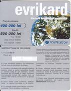ROMANIA - Evrikard, Romtelecom Prepaid Card 500000 Lei, 05/02, Sample - Romania