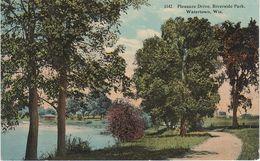 AK Watertown Riverside Park Pleasure Drive A Waukesha Madison Johnsons Creek Hubbleton Wisconsin WI United States USA - Waukesha