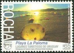 Uruguay 2017 ** UPAEP Lugares Turísticos. Playa La Paloma. Rocha. - Holidays & Tourism
