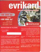 ROMANIA - Evrikard, Romtelecom Prepaid Card 100000 Lei, 05/02, Sample - Romania