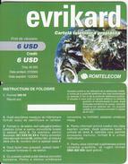 ROMANIA - Evrikard, Romtelecom Prepaid Card 6 USD, Tirage 45000, 07/03, Sample - Romania