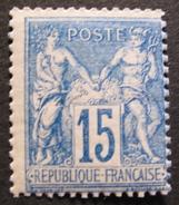 LOT R1597/72 - SAGE Type II N°90 NEUF** - Cote : 46,00 € - 1876-1898 Sage (Type II)