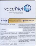 ROMANIA - VoceNet, Romtelecom Prepaid Card 6 Euro, Tirage 50000, Exp.date 30/06/05, Sample - Romania