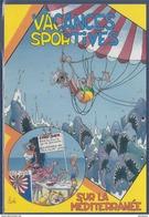 Vacances Sportives Sur La Méditérranée, Siesta Cards - Humour