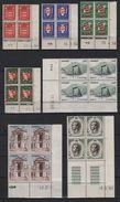 Monaco - Collection De 18 Coins Dates Neufs Sans Charnieres - Cote Des Timbres +100€ - Collections, Lots & Séries