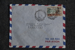Lettre De COTE D'IVOIRE ( A.O.F) Vers FRANCE - Côte-d'Ivoire (1892-1944)