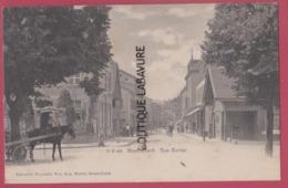 25 - MONTBELIARD---Rue Cuvier--Attelage--animé----Précurseur - Montbéliard