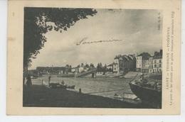 GUERRE 1914-18 - LAGNY SUR MARNE - THORIGNY - POMPONNE - Le Pont De Fer Détruit Par Le Génie Français (cachet Militaire - Lagny Sur Marne