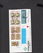 MALESIA  1981 -  Lettera Per Giappone - Farfalle E Fiori - Malesia (1964-...)